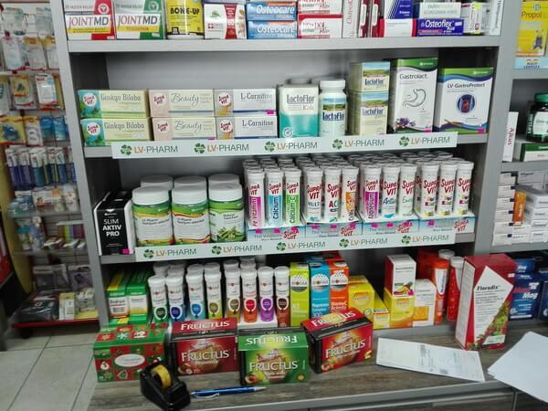 LV-pharm u našim apotekama - gandijeva