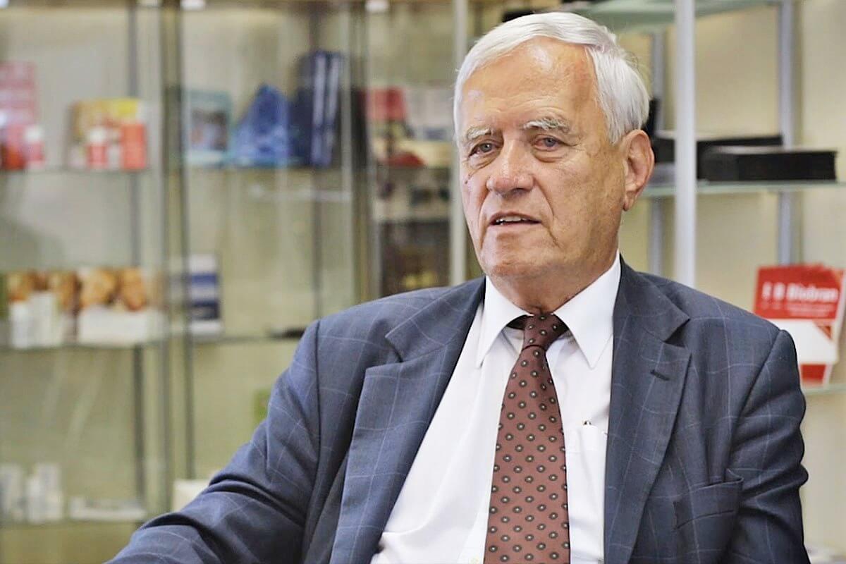 Dr Tibor Hajto o Biobranu