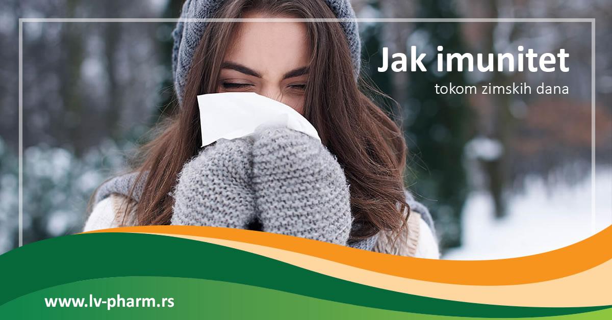 Jačanje imuniteta tokom zimskih dana