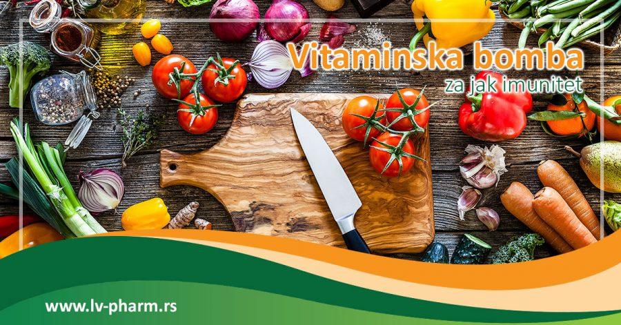 Vitaminska bomba za imunitet