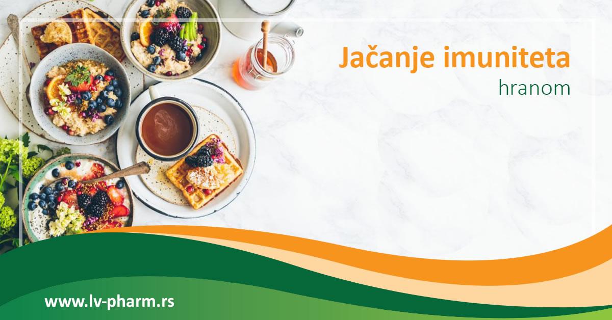 jacanje imunitet hranom