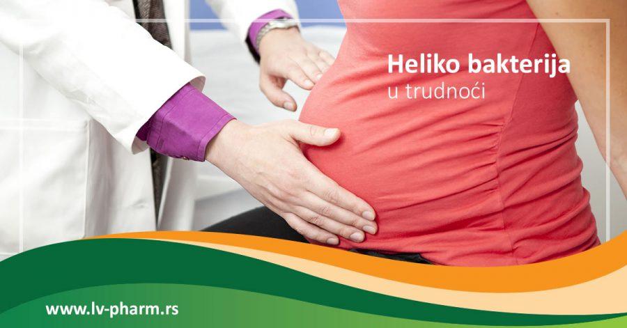Heliko bakterija u trudnoći