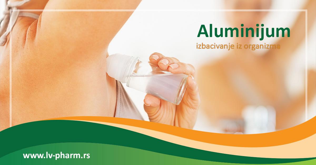 izbacivanje aluminijuma iz organizma